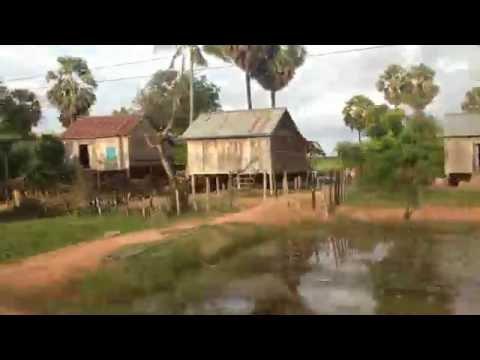 Cảnh vùng quê Campuchia - Cambodia