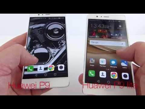 Huawei P9 versus Huawei P9 lite