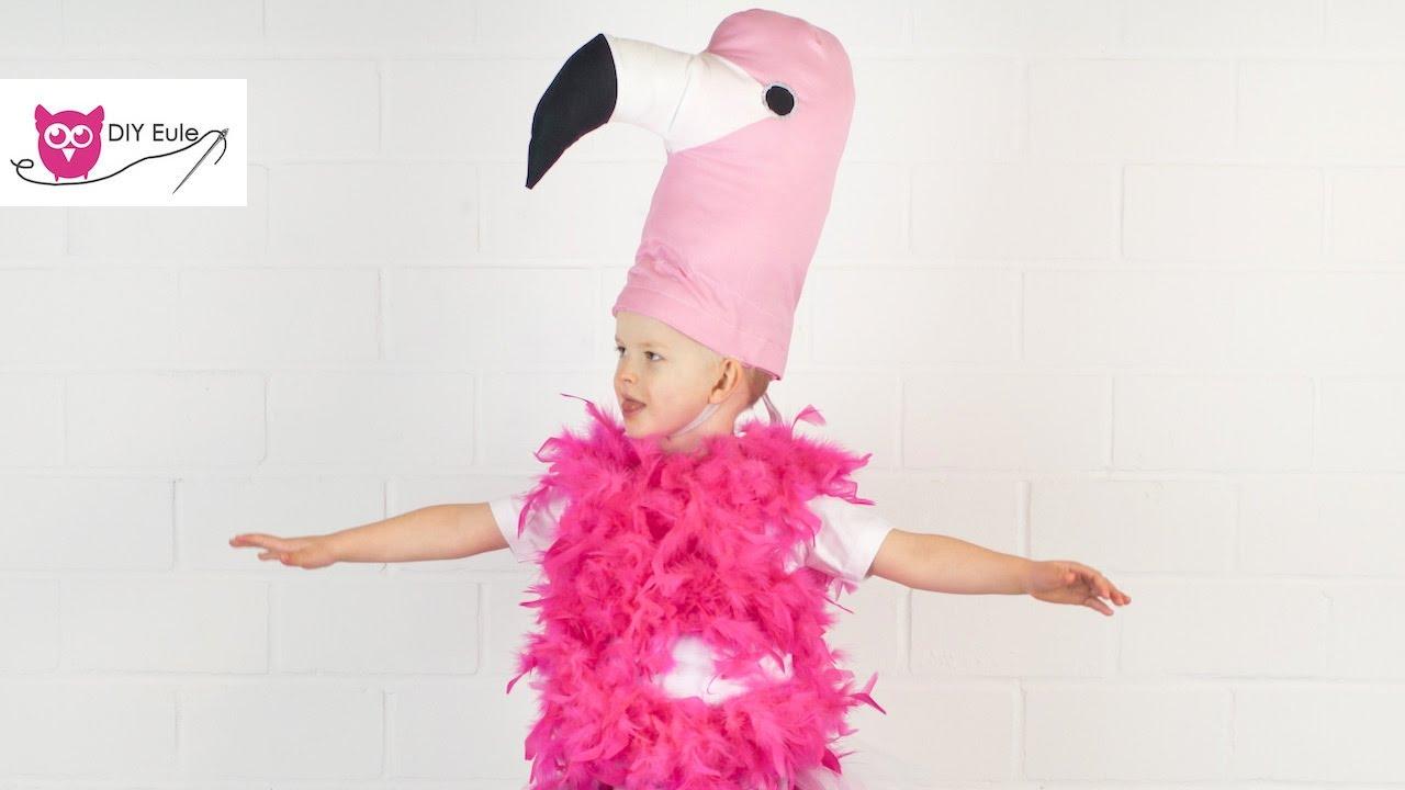 Flamingo Kostum Nahen Diy Eule Youtube