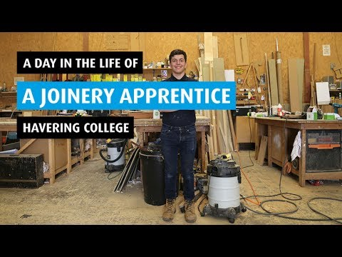 A day in the life of a Joinery Apprentice