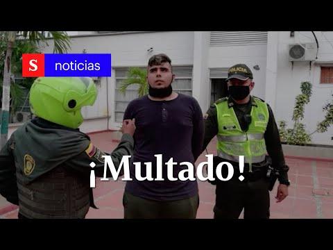 Por darle paletas de jabón a adultos mayores, joven en Cartagena fue sancionado   Semana Tv