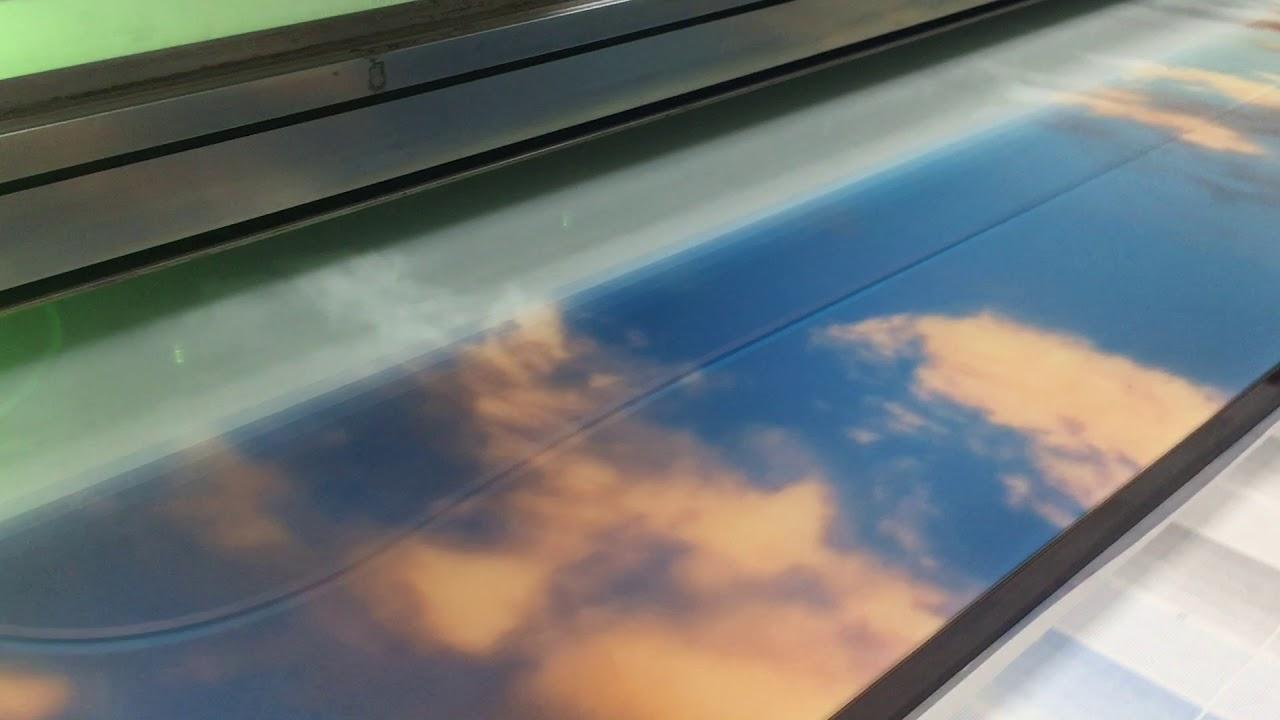 УФ печать картины на стекле