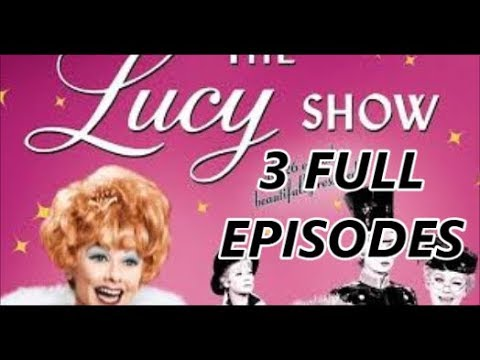Download 60's TV Comedy, The Lucy Show Full Episodes Season 1 - Starring Lucille Ball