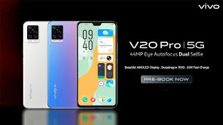 Vivo V20 Pro 5G - Pre-Book Now - India launch | Price | Specifications