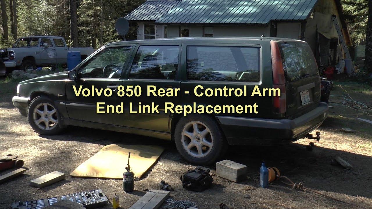 Volvo V40 Rear Wishbone Control Trailing Arm Rear Bush Removal Install Tool