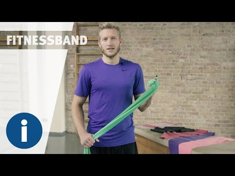 Video: Bande de fitness Sport-Thieme® 75