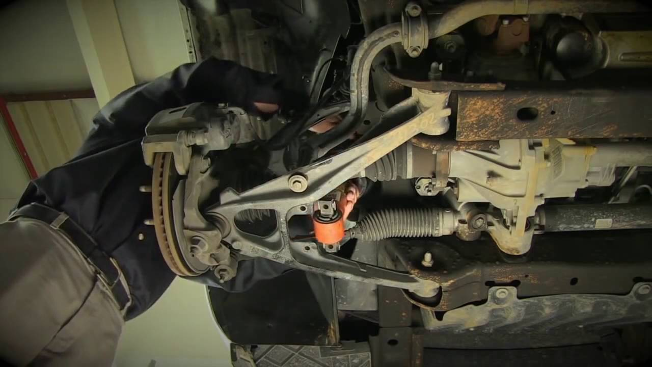 Replacing GM SUVs Electronic AutoRide Front Shock with a New Arnott Front Shock  YouTube
