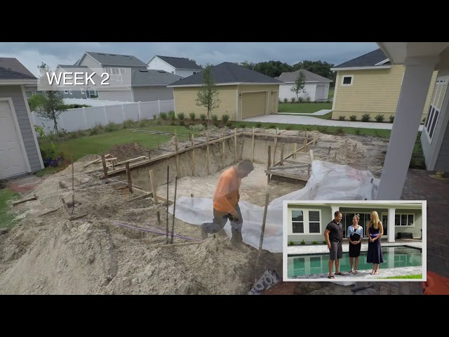 American Pools & Spas - Orlando | Swimming Pool Construction Time-Lapse