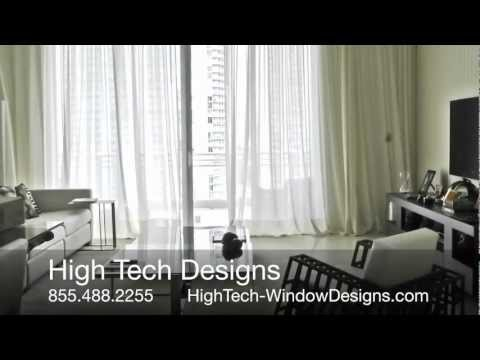 Window Treatments Miami, Boca, Roll-up Drapes and Shades, Boca Window Coverings,