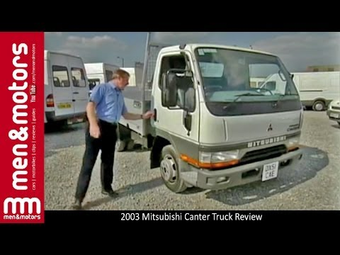 2003 Mitsubishi Canter Truck Review - YouTube