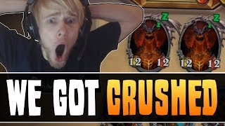 DOUBLE DEATHWING in ARENA?! - ZERO LUCK | HEARTHSTONE FAILS: RISE OF SHADOWS [Cobrak]
