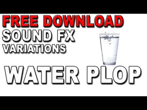 Free Water Drops and Bloops Sound Effects | MP3 Download