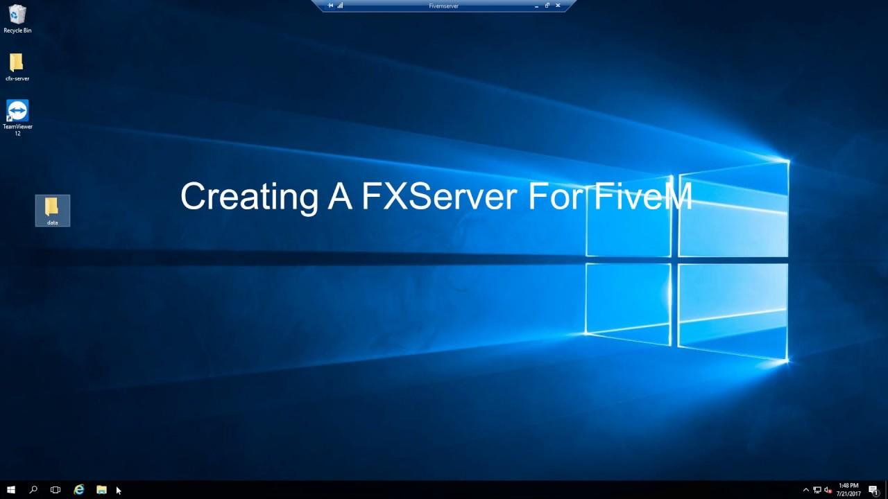 FXServer Installation Tutorial For FiveM/Five Reborn