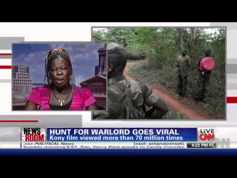 Kony Victim Evelyn Appokko - CNN Interview 03/10/2012
