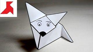 Как сделать оригами ЛИСУ из бумаги А4 своими руками?