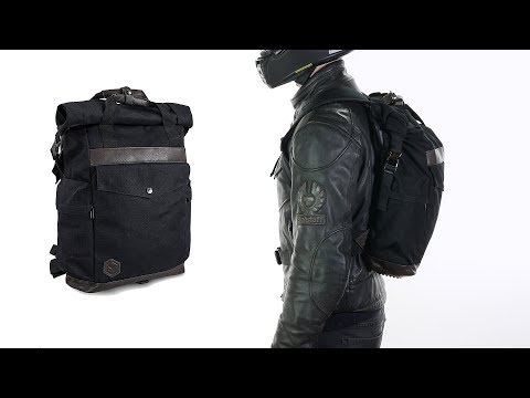 Knox Studio Collection 25 Litre Motorcycle Bike Waterproof Rucksack Drybag Black