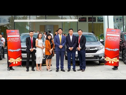 Handover Ceremony of Lot 16 Cars Honda CRV 2019 For Vietnam Green Leaf Company Car Rental