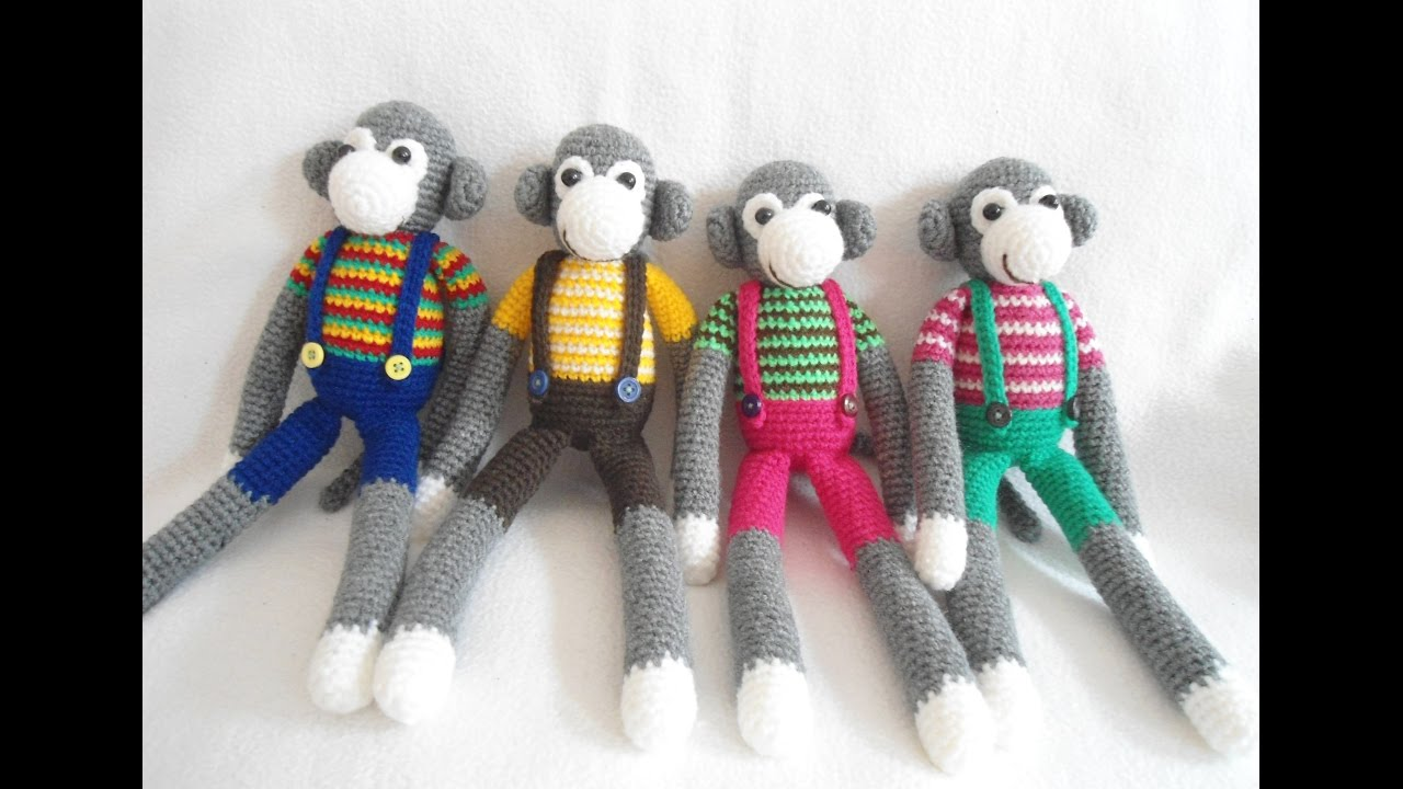 Naughty monkey amigurumi pattern - Amigurumi Today | 720x1280