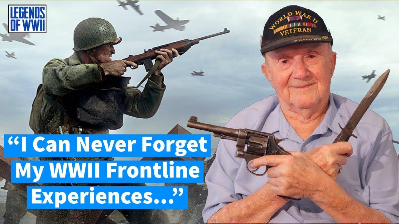 WW2 Army Rifleman Shares TRUTH Regarding Combat!!   Legends of WWII Episode  #1