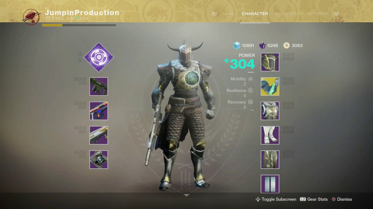 Good Titan Build Destiny