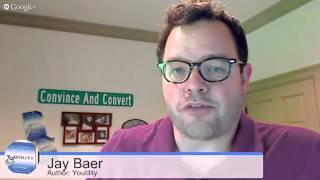 Marketing-Berater Jay Baer: Erstellen von Marketing-Menschen Lieben | AQ ' s Blog & Grill