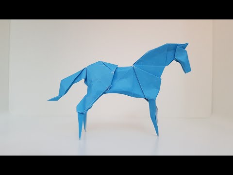 Origami Horse (Hideo Komatsu) 🐴 Tutorial