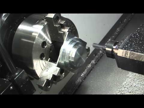 C eksen  8 inch CNC torna tezgahı videosu
