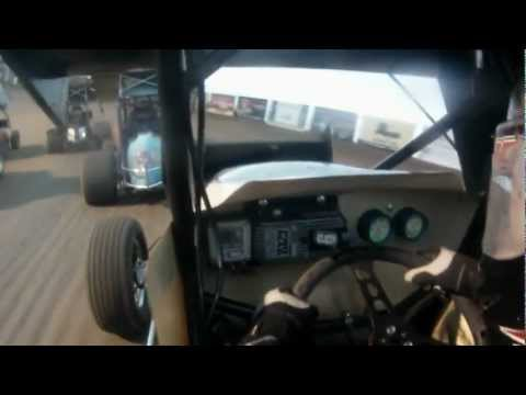 Wade Nygaard In-Car Camera - RIver Cities Speedway - May 4th, 2012