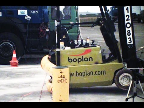 BOPLAN - Flex ImpactⓇ crashtest (super slow motion)