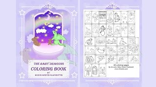 The Baby Dragons Coloring Book Volume 1