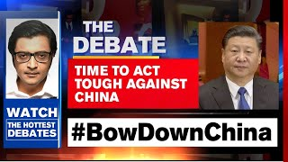 India's Diplomatic Strike To Ring-Fence China | The Debate With Arnab Goswami