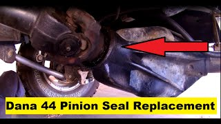 Jeep TJ Dana 44 Pinion Seal Replacement