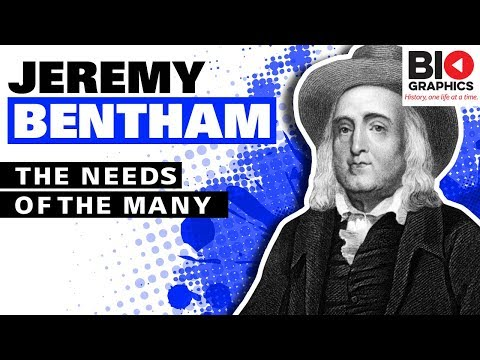 Jeremy Bentham - Founder of Modern Utilitarianism