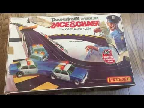 Vintage Working  Matchbox Race And Chase Set .unboxing And Making Video . Looking At Toys Exclusive
