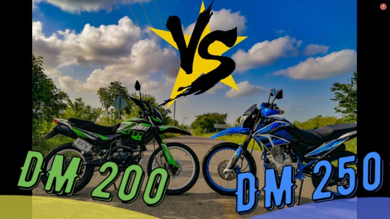 DM 250 Vs DM 200