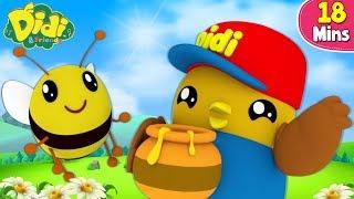 Buzz Buzz Buzz Las Abejas - Canciones Infantiles | Didi & Friends Español