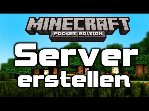 Minecraft PE Server Erstellen YouTube - Minecraft pocket edition server erstellen kostenlos