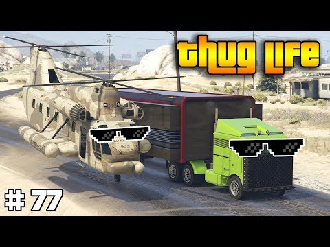 GTA 5 ONLINE : THUG LIFE AND FUNNY MOMENTS (WINS, STUNTS AND FAILS #77) thumbnail