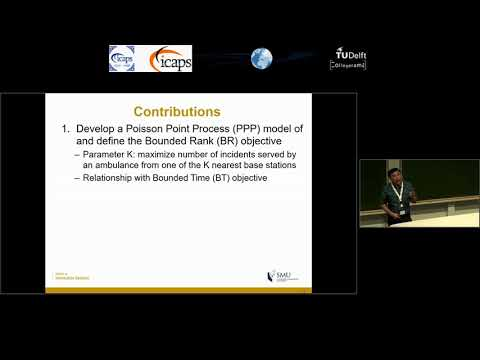 """ICAPS 2018: Hoong Chuin Lau on """"Bounded Rank Optimization for Effective and Efficient ..."""""""