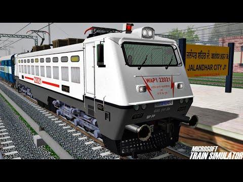 Amritsar Junction - New Delhi Shan-E-Punjab Superfast Express | MSTS Open Rails Journey Part 1