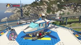 LEGO City Undercover (PS4) RESPONDER HELICOPTER Unlock Guide