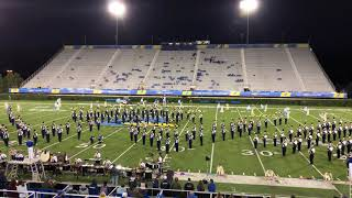 2018-10-13 UD Marching Band Post Game Show
