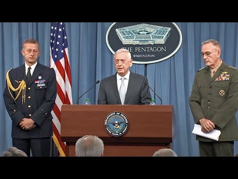 Full Video: Secretary of Defense, Joint Chiefs Chairman Press Briefing