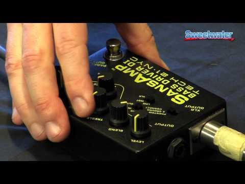 Tech 21 SansAmp Bass Driver DI Demo - Sweetwater Sound