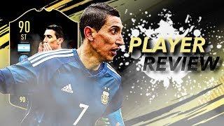 Fifa 19 TIF Di Maria 90 Player Review