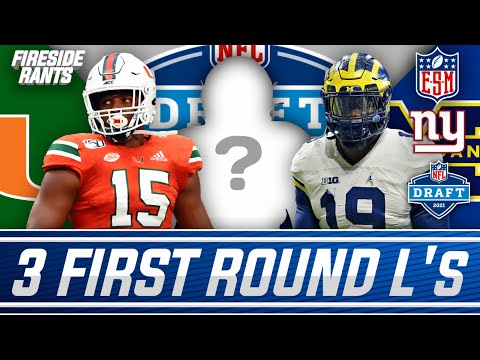 The TOP 3 NFL Draft Prospects the New York Giants Should AVOID At All Costs