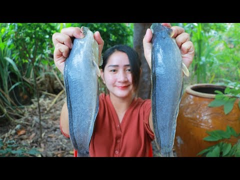 Tasty Catfish Sour Soup Cooking – Yummy Catfish Soup Recipe – Cooking With Sros
