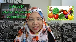 [LEARN MALAY] 38-VEGETABLES