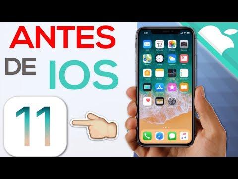 iOS 11 OFICIAL | IMPORTANTE ANTES DE ACTUALIZAR