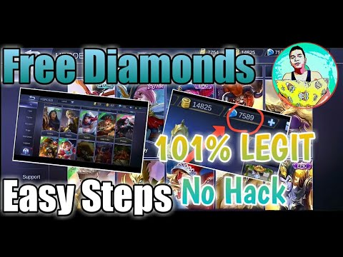 Free Diamonds Skin Using Apps ? Easy Steps 2019 Mobile Legends | Tagalog